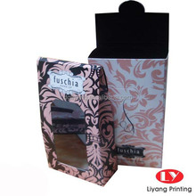 custom printed paper perfume samples packaging