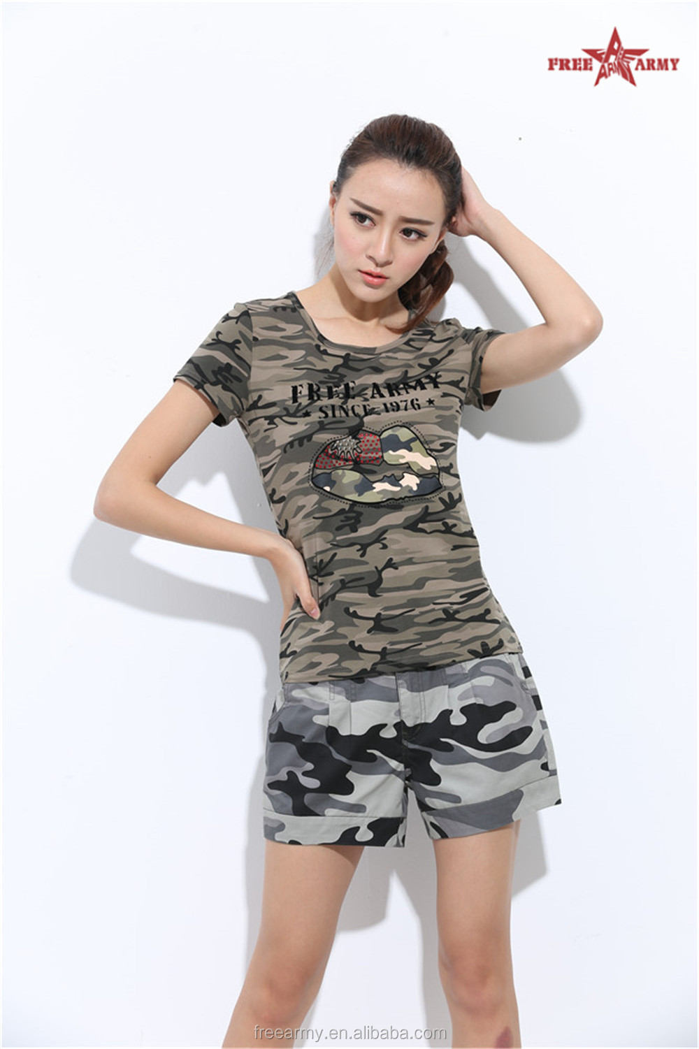2015freearmy manufacturer wholesale sequin tee shirt buy for Sequin t shirt changing