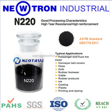 Granular and powder pigment carbon black N220 for paint ,ink,coating,plastic NC ink and PU leather