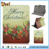 New!Lovely Cartoon Snowman Stand PU Tablet Leather Case For Android Tablet PC For iPad 23456/for ipad air/mini