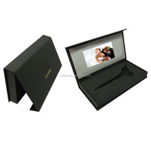 creative paper folder video box jewelry box set for promotion