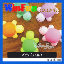 Turtle LED Flashlight Keychain Promotional Key ring