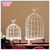 Metal white bird cage for wedding party home decoration