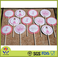 Cute design cake decoration from Yiwu supplier