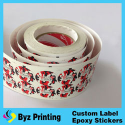 2015 Hot Sale Part Glue Adhesive Stickers Printing for Screen Guard