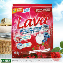 Lava Washing Powder / Detergent Powder for Manual Wash, Rose Garden