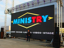 economical led pitch 7.62 display for china factory