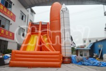 Hot-selling inflatable high airplane slide for adults and children