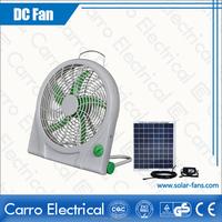 Solar box fans/solar boat fan DC-12V10Q