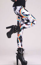 2014 Fashion Digital Printing Stretch Spandex Sexy Women Leggins