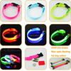 Battery Operated Glowing In Dark Ultra Bright LED Small Dog Collars