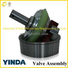 HOT SALE different sizes Emsco D-1650 mud pump valve assembly,oil pump valve rubber