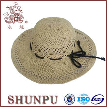 life guard creative colorful band paper straw hat