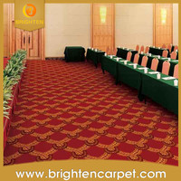 Floral hotel conference room handmade carpet