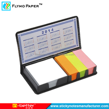 Good Quality Sticky Notes Memo Pad With Leather Case