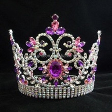 beauty flower pageant cheap crowns and tiara
