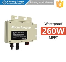 KD-WVC260W Hot Sales!230w hot sale renewable energy micro inverter for solar panels