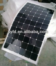 80W/90W/100W/110W/120W USA Sunpower Semi Flexible Solar Panel with CE for European