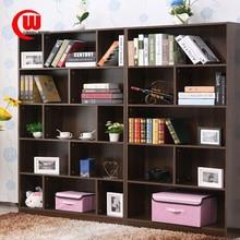 Simple modern piano paint high quality newest industrial bookshelf furniture study room bookshelf
