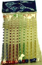 JML crystallized plastic ball pen with multicolor diamond crystal stylus ball pen