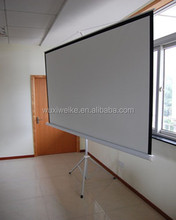 Different Size Tripod Portable Screen/Tripod Standing Projector Screen/large Amount Offer For Business&Education