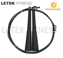 Crossfit PP Handle with Long Bearing Rope Skipping/Jump Rope