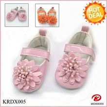 KRDSHOES 2015 spring flowers decorated pretty girls party shoes two colors optional