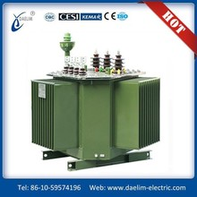 S11-MR Three-phase Full-sealed 6.3kv 63kva Spiral Core Power Transformer