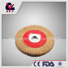 knotted wire wheel brush