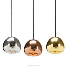 Modern Void Light Mini Polished Glass electroplate Apple pendant lamp