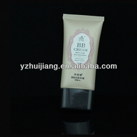 Hot sale 50ml cc cream cosmetic tube packaging/cosmetic plastic tube/pump tube
