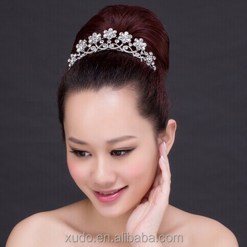 new wedding hair accessories 2015 wedding tiara headband wholesale