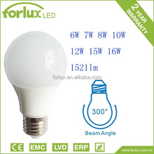 style energy saving e27 7w led lighting bulb