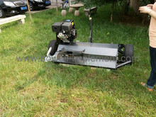 13hp Self Powered 1150mm Flail Mower Tow Behind ATV, Quad - Electric Start