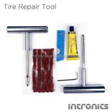 Heavy Duty Tubeless T-Handle Tire Repair Kit Plug Hand Tool