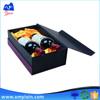 Customized luxury cardboard wine gift box with printing