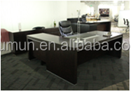 high quality office furniture L-shape small executive desk china manufacturer