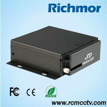 4 canales DVR H.264 GPS G-sensor CCTV DVR para el autobús
