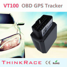 Googel Map Smart OBD Tracker VT100 With Multiple Languages Software by Thinkrace OBD2 vehicle gps tracker