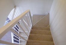 Carpet Stair Nosing BM-05With Axminster Carpet