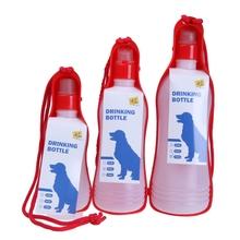 Plastic Drinking Bottle Water Bottle Dog Drinking Bottle for Dogs