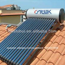 sistemas de presión solares de calentamiento de agua, agua caliente solar, calentadores solares de agua a presión compactos