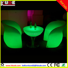 modern lounge bar and lounge furniture/LED illuminated furniture from Foshan factory
