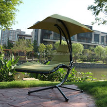 Steel Hammock with Canopy Swing Chair