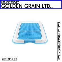 fashionable plastic pet dog toilet for sale