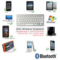 mini wireless keyboard for samsung smart tv, Mini Bluetooth 3.0 Wireless Keyboard for mini bluetooth keyboard for linux os