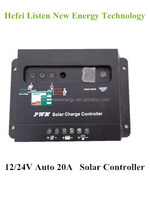 Instruction To Solar Charge Controller 20A