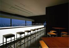 Bordeaux led lighting bar counter reception accent lighting bar counter top back lighting