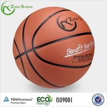Zhensheng iso9001 pu laminated basketball