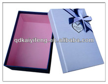 Treasure chest gift boxes paper wig box